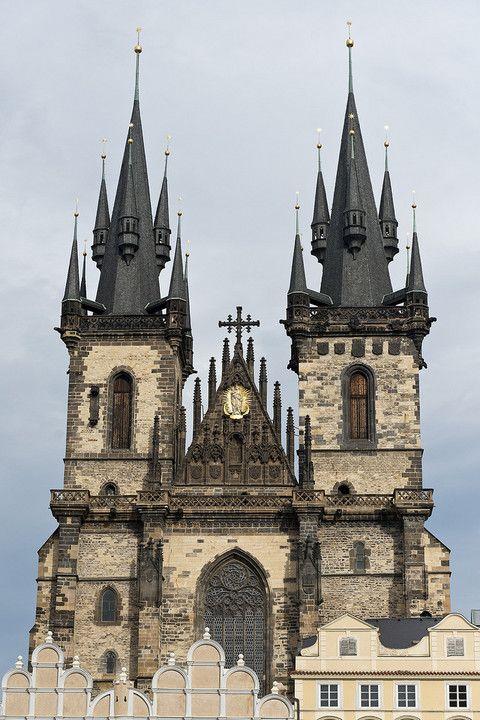 Iglesia De Nuestra Senora De Tyn Lugares Para Visitar En Praga